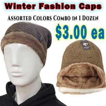 Wholesale Fashion Winter Caps - RF001