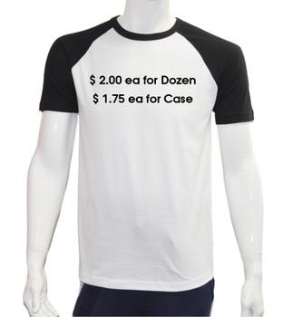 Raglan Baseball S/S T-Shirts - CLB