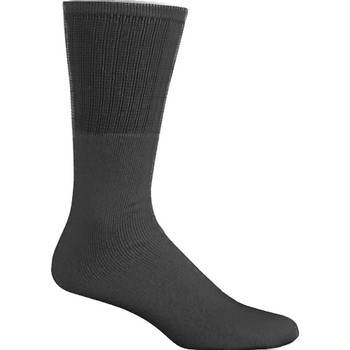 Double Lux Black Tube Socks
