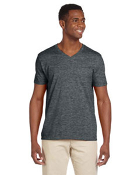 Gildan Adult 100% Cotton Ringspun Softstyle®  4.5 oz. V-Neck T-Shirt