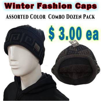 Wholesale White Wolf Fashion Winter Hats - RF004