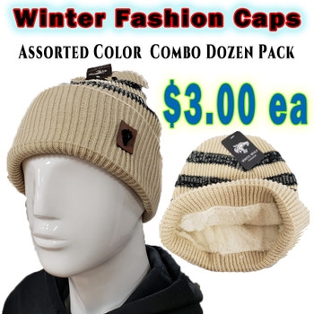 Wholesale White Wolf Fashion Winter Hats - RF008