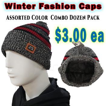 Wholesale White Wolf Fashion Winter Hats - RF009