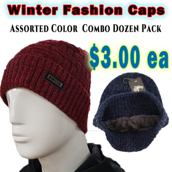 Wholesale White Wolf Fashion Winter Hats - RF010