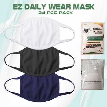 Pack of 24 100% Cotton Face Mask For Daily Wear