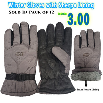 Wholesale Heavy Gloves with Sherpa Lining
