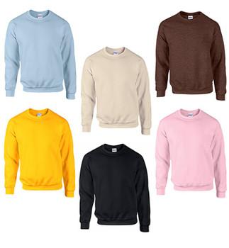 IR Adult Heavy Blend  8 oz., 50/50 Crew Neck Sweatshirts Case Pack - IR18000