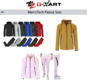 Men's Tech Fleece Jogger Set . 60% cotton 40% Polyester Pack of 6