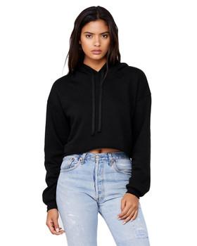 AF Apparel Women's Cropped Fleece Hoodie