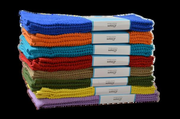 2 Pcs Terry Kitchen Towel Set lot of 24 Sets  - LEDT01
