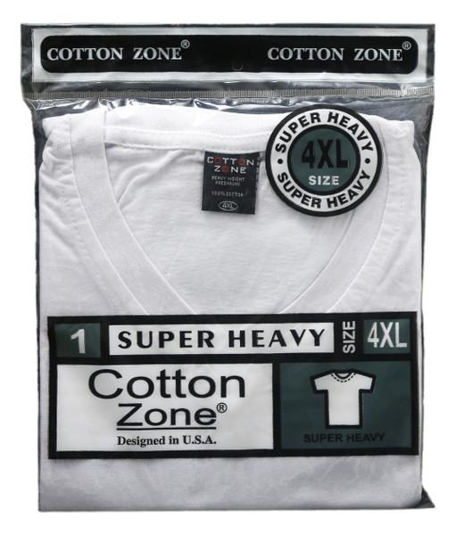 Cotton Zone  Fine Cotton S/S V neck T-Shirts
