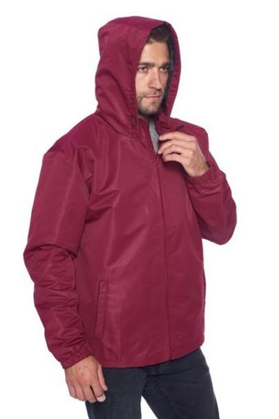 Hooded Men's Windbreaker