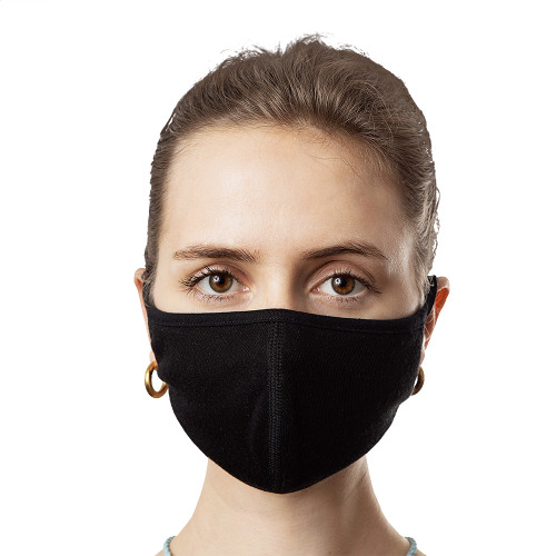 Face Mask (3-Pack) - Black (Plain)