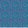 Backing Fabric -Fruit Mandala - Blue