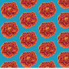 Backing Fabric -Full Bloom - Red
