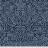 Backing Fabric - Strawberry Thief - Navy