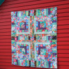 Green Mosaic Quilt featuring Kaffe Fassett Collective
