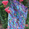 Slide Quilt featuring Kaffe Fassett Collective Spring 2019