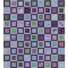 Square in Square Quilt - Cool featuring February 2020
