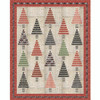 Strippy Forest - Red Border featuring Yuletide