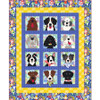 Doggies in the Window Quilt featuring Woof & Wags