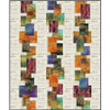 Suburban Skies Quilt featuring Abandoned 1 & 2, Eclectic Elements, & Provisions