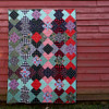 Boxed In Quilt featuring Holiday Homies Flannel