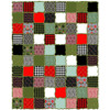 Raggy Layers Quilt featuring Holiday Homies Flannel