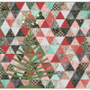 Tinsel Tree Quilt featuring Christmastime