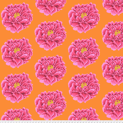 Backing Fabric -Full Blown - Pink