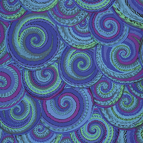 Curly Baskets - Cobalt