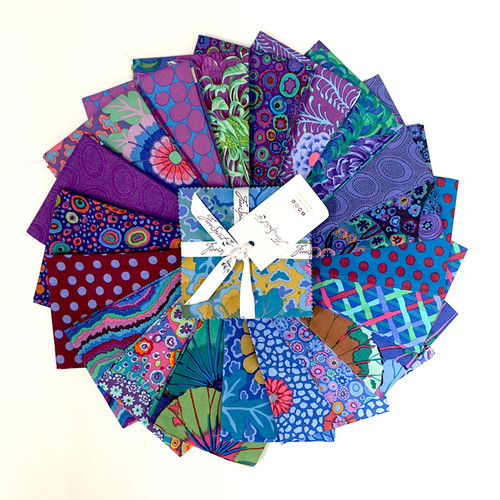 "Kaffe Fassett Collective Classics Peacock - 5"" Charm Pack"
