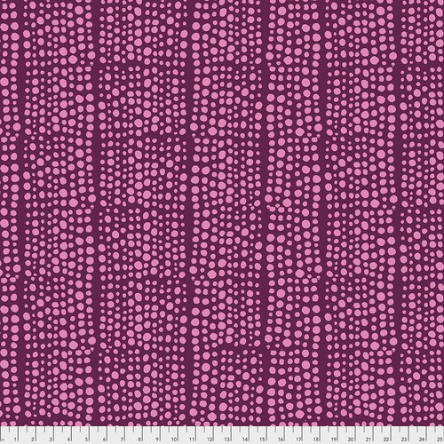 Backing Fabric - Dots - Violet