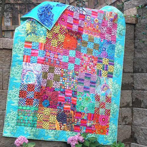Moss Garden featuring Kaffe Fassett Collective Fall 2018