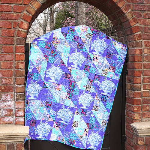 Stone Flower Patches featuring Kaffe Fassett Collective