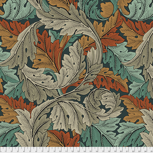Backing Fabric - Acanthus - Autumn