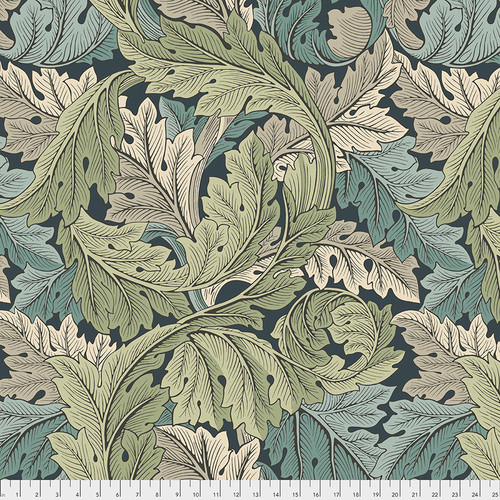 Backing Fabric - Acanthus - Verdant