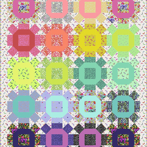 Nuts and Bolts Quilt featuring Monkey Wrench