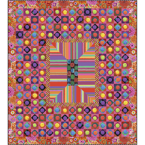 Sunset Boulevard Quilt with One Shot Cotton Substitute