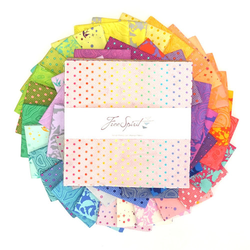 "Tula's True Colors - 10"" Charm Pack"