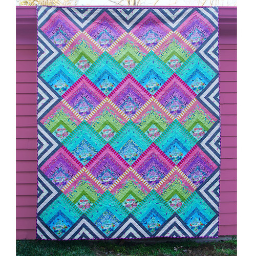 Electric Slide Quilt featuring HomeMade