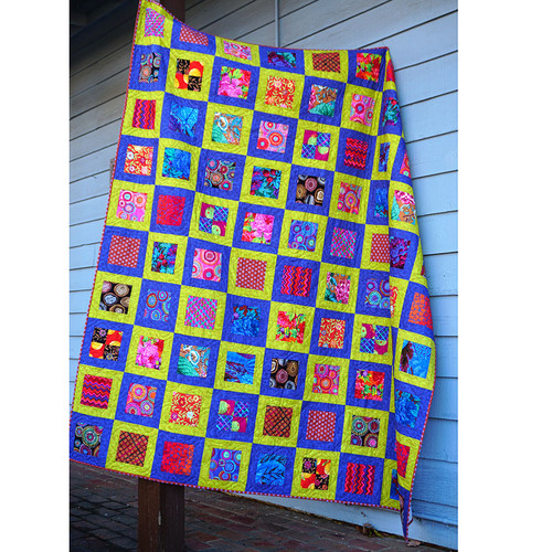 Square in Square Quilt - Warm featuring February 2020