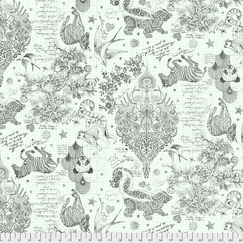 Backing Fabric - Sketchyer - Paper