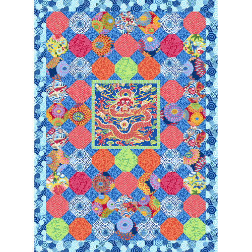 Hayami Quilt featuring Silk Road