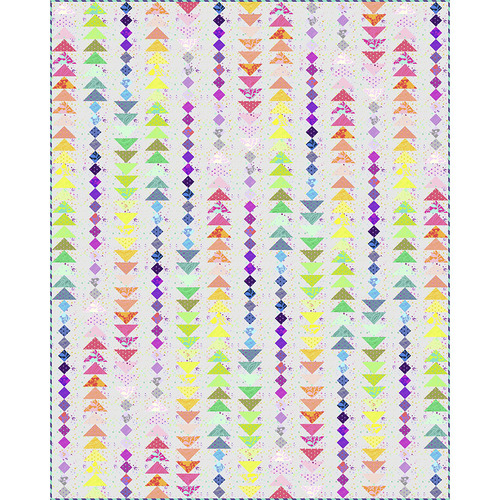 Stardust Light Quilt featuring Tula's True Colors