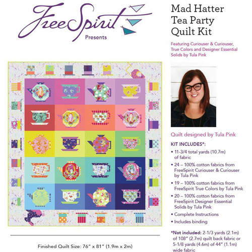 Quilt Kit - Mad Hatter Tea Party