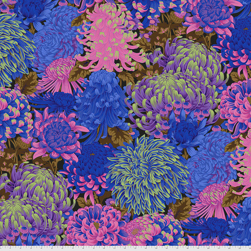 Hokusai's Mums - Cool    August 2021