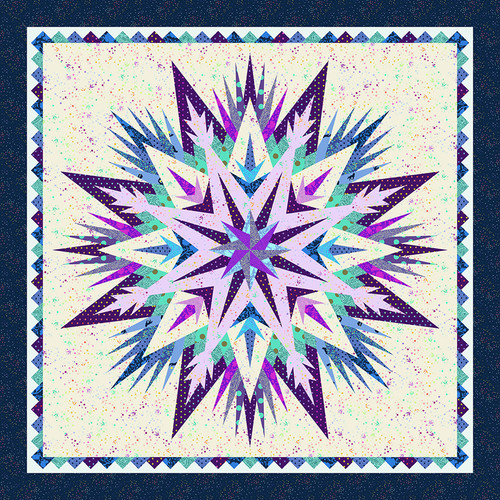 Cosmic Shimmer Quilt featuring True Colors & HomeMade