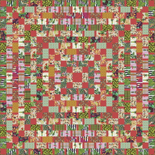 Earth Made Grid Quilt