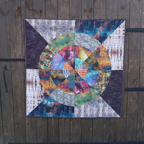 Curious by Nature Quilt featuring Abandoned 2
